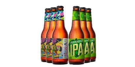 <p><strong>Ganhe 3 cervejas Partido Alto</strong> na compra de 3 cervejas Underground</p>
