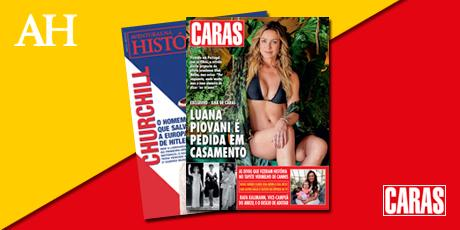 <p><strong>40% de desconto nas assinaturas das revistas</strong> Aventuras na História e CARAS(impressas)</p>
