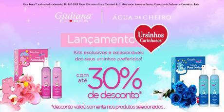 <p><strong>Até 30% OFF </strong>na<strong>Coleção Ursinhos Carinhosos</strong></p>