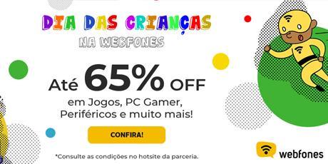 <p><strong>Até 65% OFF em Jogos, PC Gamer e muito mais</strong></p>