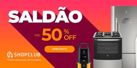 <p><strong>Até 50% de desconto + frete grátis</strong> no ShopClub by Electrolux</p>