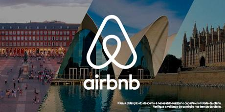 <p><strong>Até R$179OFF</strong> na primeira experiência com AirBnb</p>