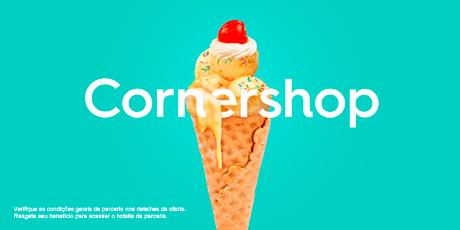 <p><strong>Crédito de R$30</strong>para compras na Cornershop</p>