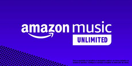 <p><strong>GRÁTIS:</strong>3meses de Amazon Music Unlimited</p>