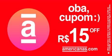 <p><strong>Cupom de R$15 OFF</strong> para aprimeira compra no site</p>