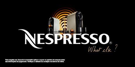 <p><strong>Cupom de 20% OFF em comprade cafeteiras</strong> Nespresso</p>