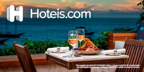<p><strong>Cupom de 8% OFF</strong> em reservas de hotéis</p>