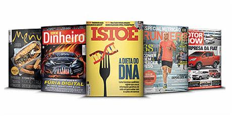 <p>At&eacute; 70% de desconto na assinatura de revistas</p>