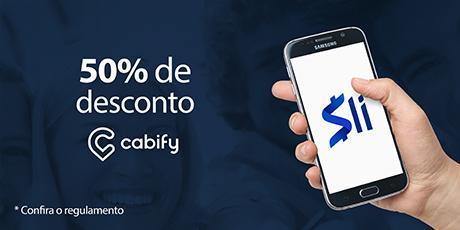 <p>Ganhe R$20,00 de desconto no Cabify</p>