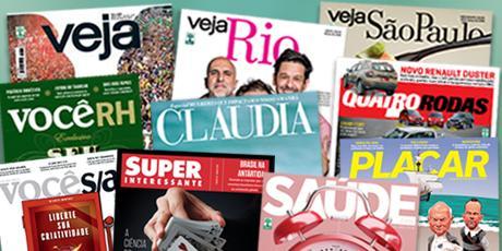 <p>At&eacute; 70% OFF em assinatura de revistas</p>