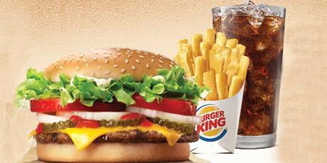 <p>At&eacute; 20% OFF no card&aacute;pio Burger King</p>
