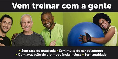 <p>10% OFF no plano Fit Plus + isenção de matrícula </p>