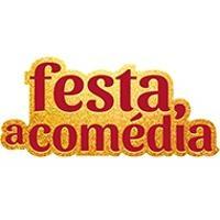 Logotipo Festa, a Comédia – Teatro dos 4 – RJ
