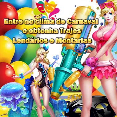 Entre no clima de Carnaval e obtenha Trajes Lendários