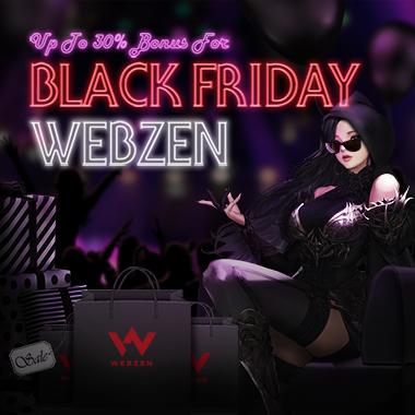 Webzen Black Friday 2017