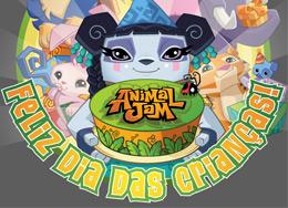 Dia das Crianças no Animal Jam