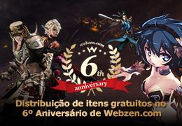 6º Aniversário da Webzen